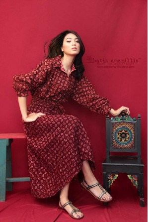 batik amarillis's fraiche dress 2-PO
