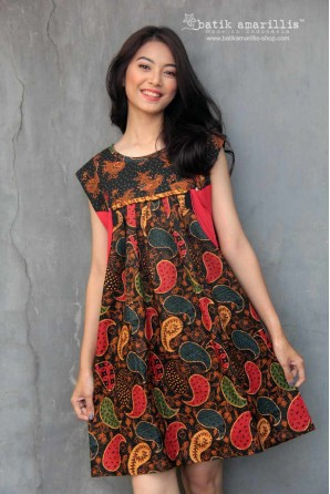 batik amarillis's frida tunic/dress -PO