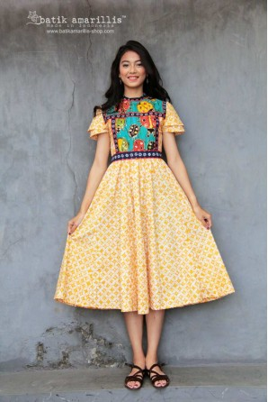 batik amarillis's sweet mischief dress 2-PO