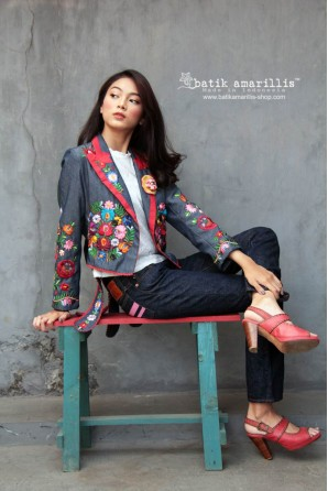 batik amarillis birthday 9 jacket-PO