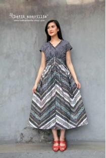 batik amarillis's bronte sweet dress-PO