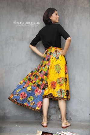 batik amarillis's in my pocket skirt-PO