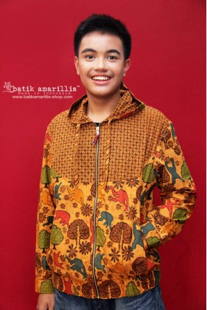 batik amarillis's girl meets boy jacket 4-PO