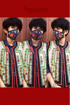 batik amarillis's the mask
