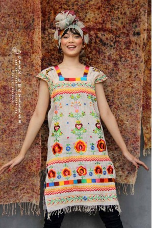 batik amarillis's lily dress-PO