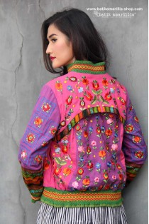 batik amarillis's girl meets boy jacket 2-PO