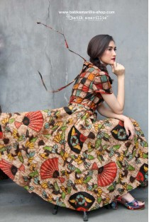 batik amarillis's primavera dress 2
