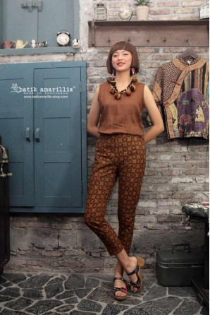 batik amarillis's chopsticks pants