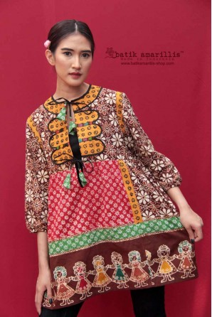 batik amarillis's la boheme dress