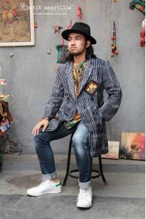 batik amarillis's nine(9) blazer-PO