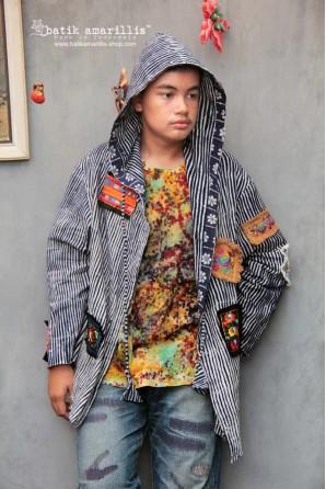 batik amarillis's rad riding hoodie 2-PO
