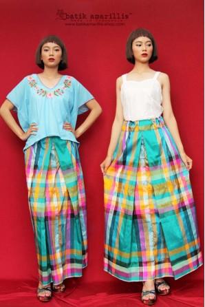 batik amarillis's angin mamiri skirt