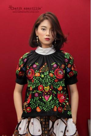 batik amarillis's la sagrada blouse-PO