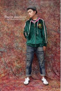 batik amarillis's velvet underground jacket-PO