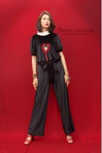 batik amarillis's velvet underground pants-PO