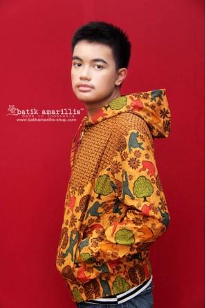 batik amarillis's girl meets boy jacket 4-PO