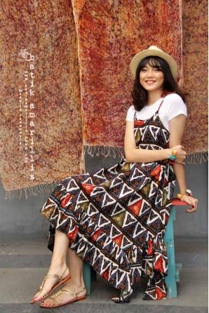batik amarillis's breezey dress-PO