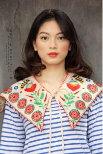 batik amarillis's mayflower collar-PO