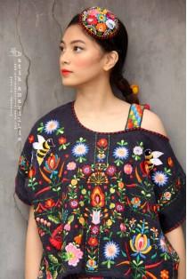 batik amarillis's breezy blouse 3-PO