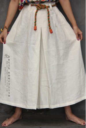 batik amarillis's warrior pants -PO