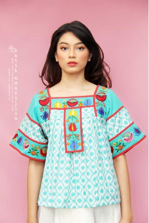 batik amarillis frida blouse 3-PO