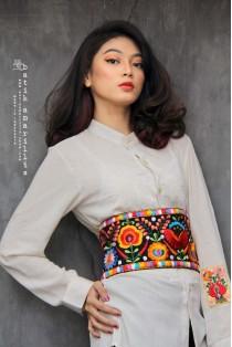 batik amarillis's primavera obi belt-PO
