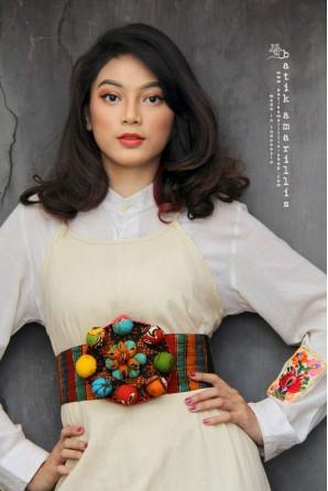 batik amarillis's WBC obi belt-PO