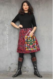 batik amarillis's petit bon bon skirt-PO