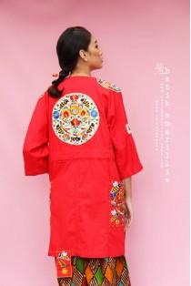 batik amarillis's kiku jacket 3-PO