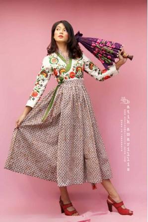 batik amarillis's areum dress-PO