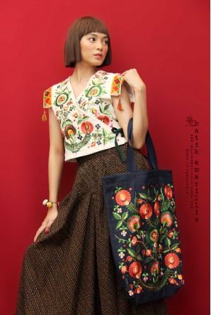 batik amarillis's areum vest-PO