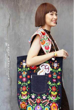 batik amarillis's breezy bag-PO