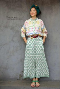 batik amarillis's sakerah pants-PO
