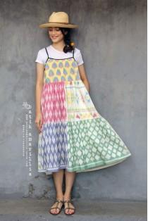 batik amarillis's antonia dress-PO