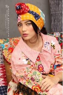 batik amarillis's lestari turban