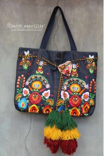 batik amarillis's my jeans bag luxe-PO