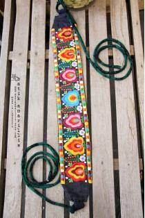 batik amarillis's folklore obi belt