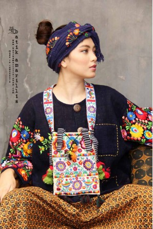 batik amarillis's amulet bag-PO