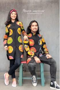 batik amarillis's ragazza e ragazzo