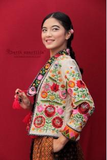 batik amarillis's montserrat jacket-PO